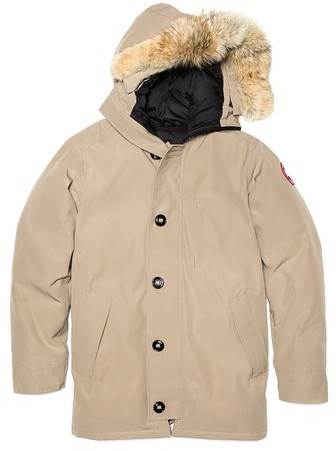 canada goose Bikers MARRONE