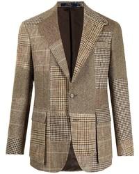 Polo Ralph Lauren Rl67 Patchwork Tweed Jacket