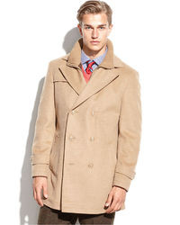 Tan Pea Coat