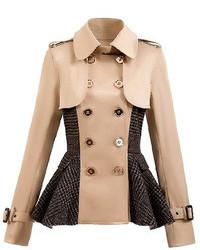 Tan Pea Coats for Women | Women&39s Fashion