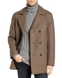 Michl kors wool blend double breasted peacoat medium 3751177