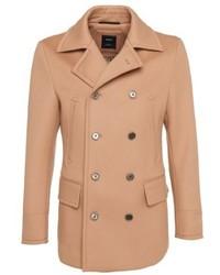 Hugo Boss T Cawel Tailored Wool Blend Coat 40r