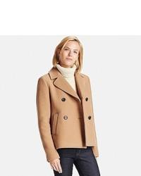 Uniqlo Wool Blend Pea Coat