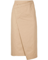 ASTRAET Astrt Wrap Pencil Skirt