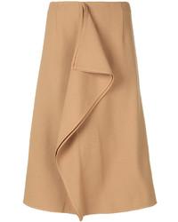 Asymmetric frill pencil skirt medium 3994798