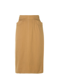 Kenzo Vintage Fitted Pencil Skirt