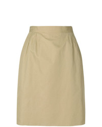 Yves Saint Laurent Vintage High Rise Straight Skirt