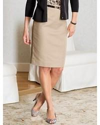 Pendleton Textured Weave Pencil Skirt