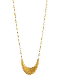 Gurhan Half Moon Arc Pendant Necklace