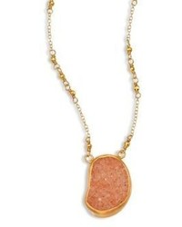 Chan Luu Tan Agate Pendant Necklace