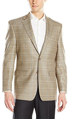 Austin Reed Tan Plaid 2 Button Sport Coat 395 Amazon Com Lookastic