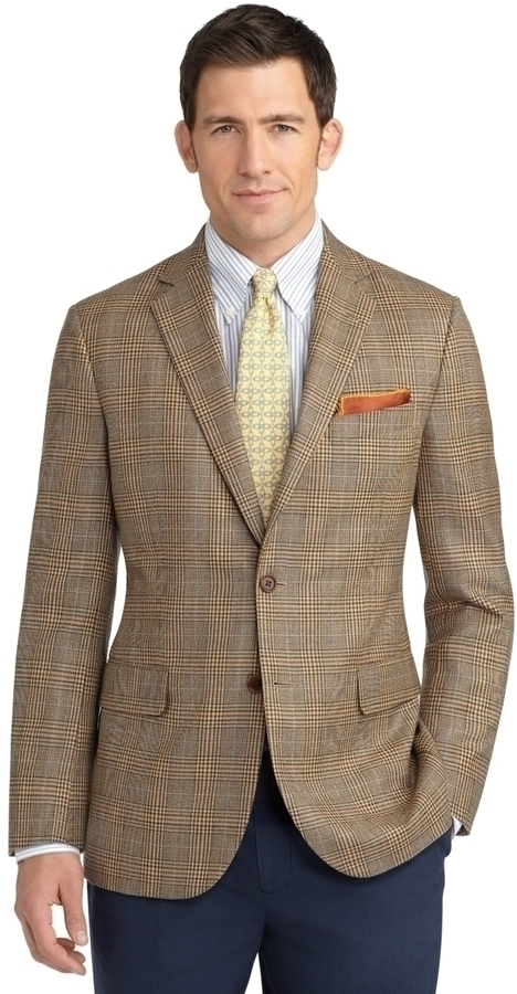 ... Brooks Brothers Madison Fit Plaid Deco Sport Coat ...