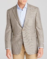Canali Plaid Siena Soft Classic Fit Sport Coat