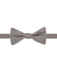 Countess Mara Glen Plaid Bow Tie