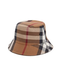 Burberry Check Canvas Bucket Hat