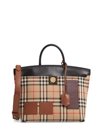 Burberry Small Vintage Check Satchel
