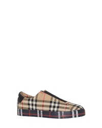 Burberry Markham Vintage Check Slip On Sneaker