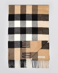 Burberry London Check Pattern Cashmere Scarf