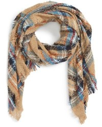 Maxine plaid scarf medium 793680