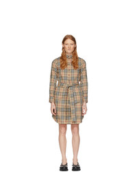 Burberry Beige Giovanna Shirt Dress