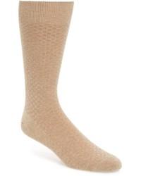 John W. Nordstrom Checkerboard Cashmere Blend Socks