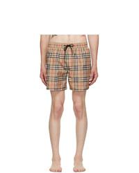 Burberry Beige Grafton Swim Shorts