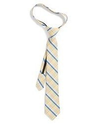 Tan Plaid Tie