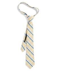 Tan Plaid Tie