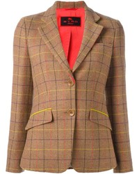 Tattersall plaid blazer medium 803813