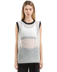 Nike Lab Essentials Mesh Pleated Tank Top