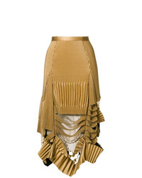 Maison Margiela Deconstructed Pleated Skirt