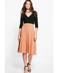 Geneva pleated slinky midi skirt medium 6368524