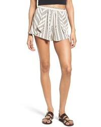Pleated stripe shorts medium 3684756