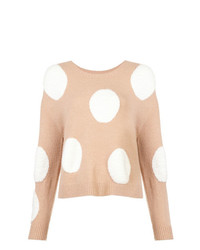 Alice + Olivia Aliceolivia Polka Dot Sweater