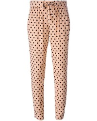RED Valentino Polka Dot Tie Fastening Trousers