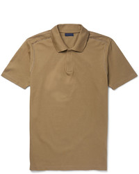 Slim fit cotton piqu polo shirt medium 1124878