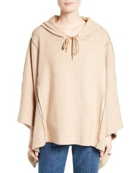 Cotton blend poncho medium 3747163
