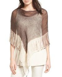 Organic linen poncho medium 3684891