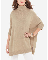 The Limited Turtleneck Poncho