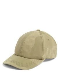 Tan Print Baseball Cap