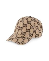 Gucci Gg Wool Blend Baseball Cap