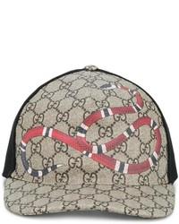 e8ef01509c4 Gucci Original Gg Canvas Baseball Hat Out of stock · Gucci Snake Print Gg  Supreme Baseball Cap