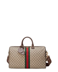 Gucci Medium Ophidia Gg Supreme Carry On Duffel
