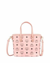 MCM Anya Mini Logo Shopper Bag