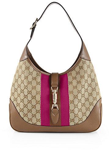 94a1fc3c171 Gucci Jackie Original Gg Canvas Shoulder Bag, $1,450 | Saks Fifth ...