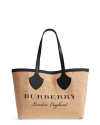 Burberry Medium Jute Tote