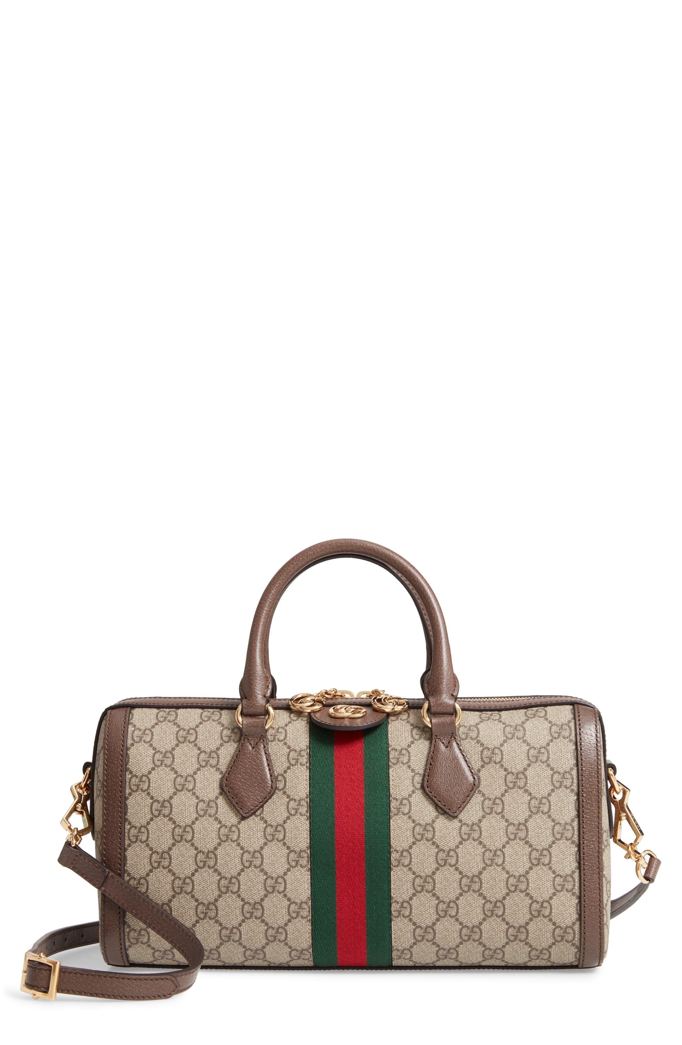 56fe2c84653e35 Gucci Ophidia Gg Supreme Canvas Bag, $1,980 | Nordstrom | Lookastic.com