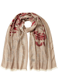 Etro Jersey Scarf With Print