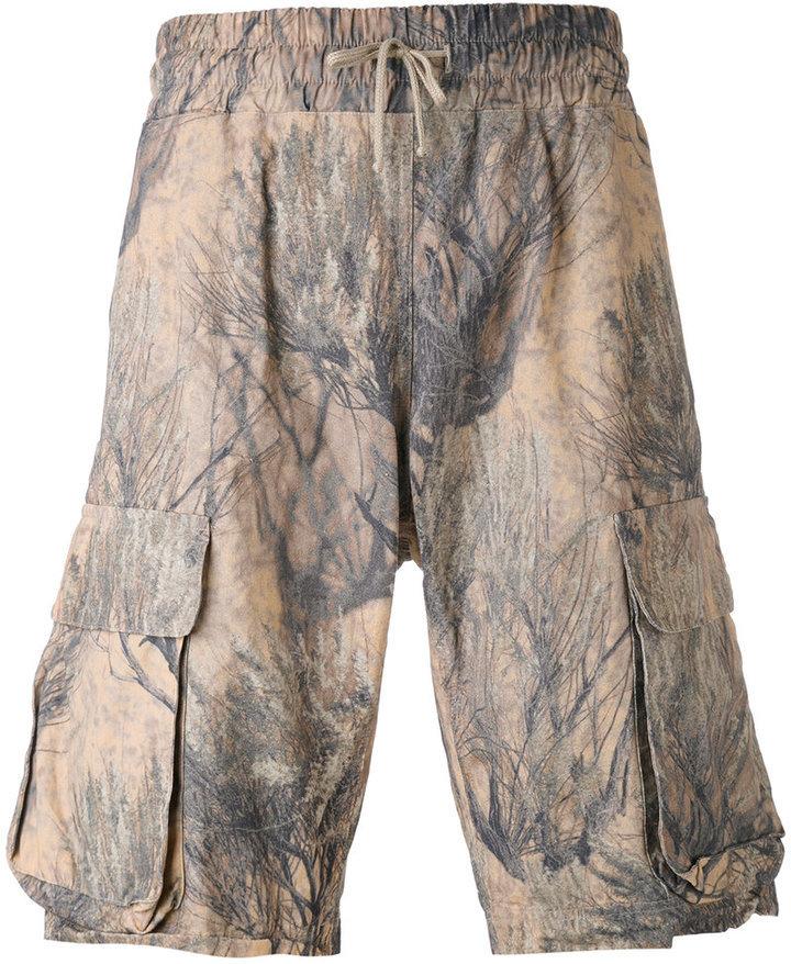 1bb4c9d10 ... Yeezy Camo Print Season 4 Cargo Shorts