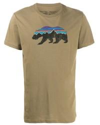 Patagonia Fitz Roy Bear T Shirt